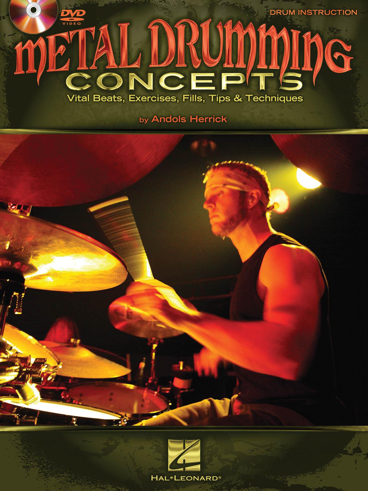 Metal Drumming Concepts +Dvd (Vi: Drums: Instrumental Tutor