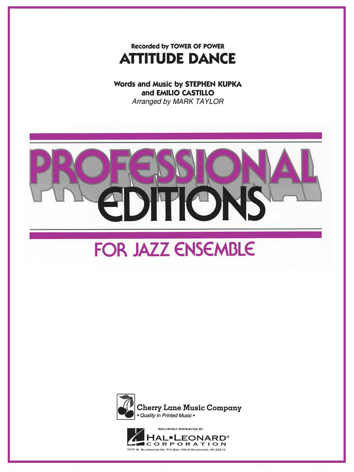 Emilio Castillo: Attitude Dance: Jazz Ensemble: Score