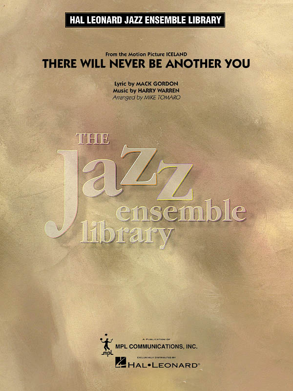 There Will Never Be Another You: Jazz Ensemble: Score