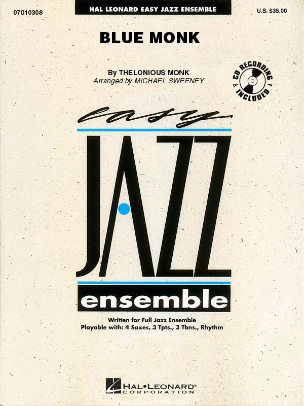 Thelonious Monk: Blue Monk: Jazz Ensemble: Score