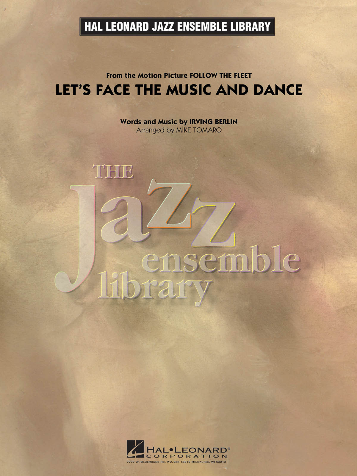 Irving Berlin: Let's Face the Music and Dance: Jazz Ensemble: Score & Parts