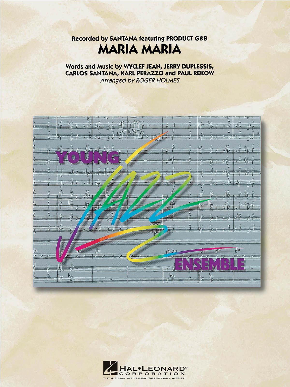 Carlos Santana: Maria Maria: Jazz Ensemble: Score