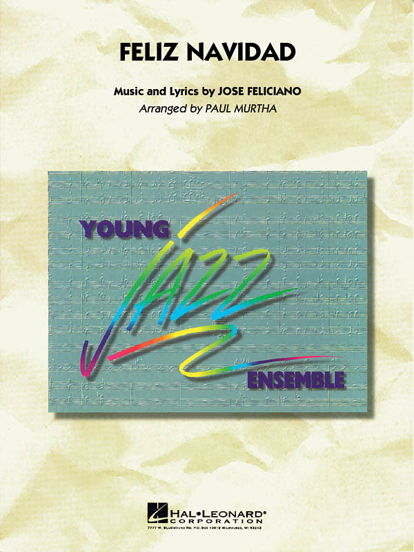 José Feliciano: Feliz Navidad: Jazz Ensemble: Score & Parts
