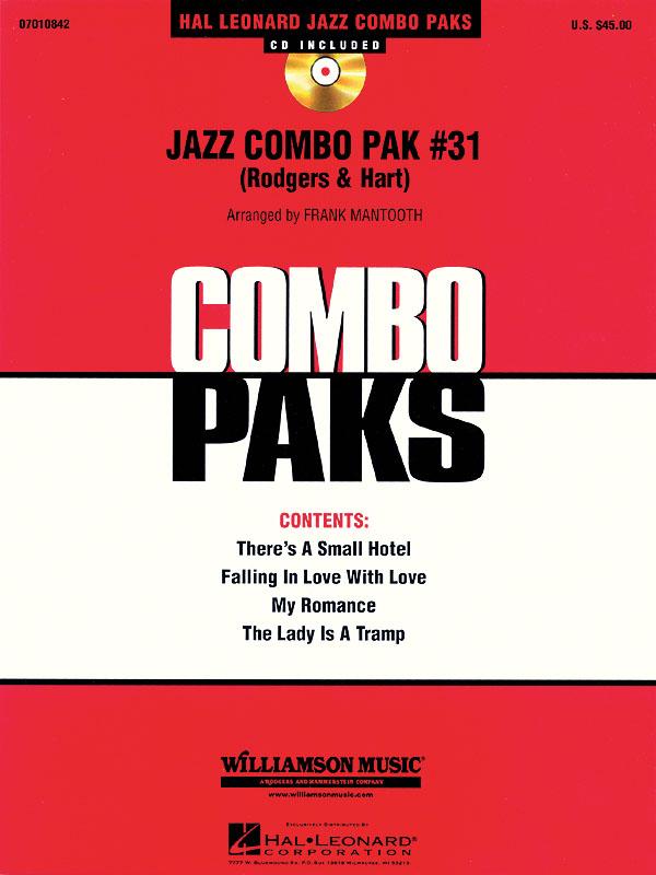 Lorenz Hart Richard Rodgers: Jazz Combo Pak #31 (Rodgers & Hart): Jazz Ensemble: