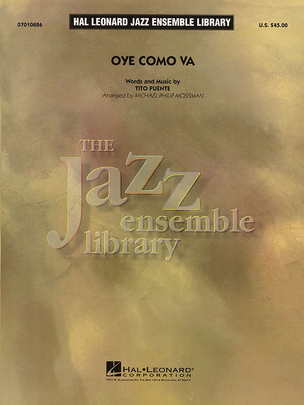 Tito Puente: Oye Como Va: Jazz Ensemble: Score & Parts