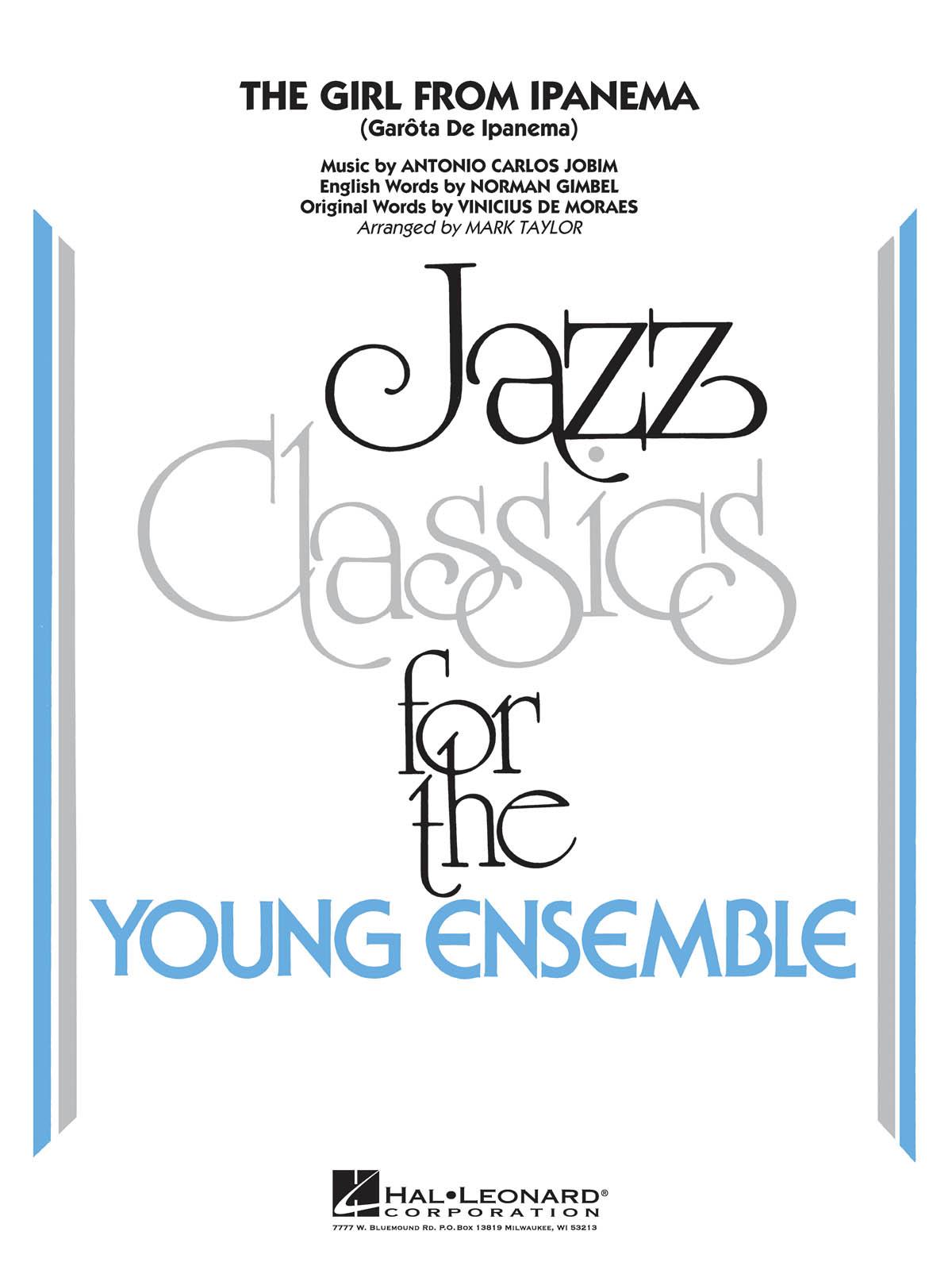 Antonio Carlos Jobim: The Girl From Ipanema: Jazz Ensemble: Score & Parts