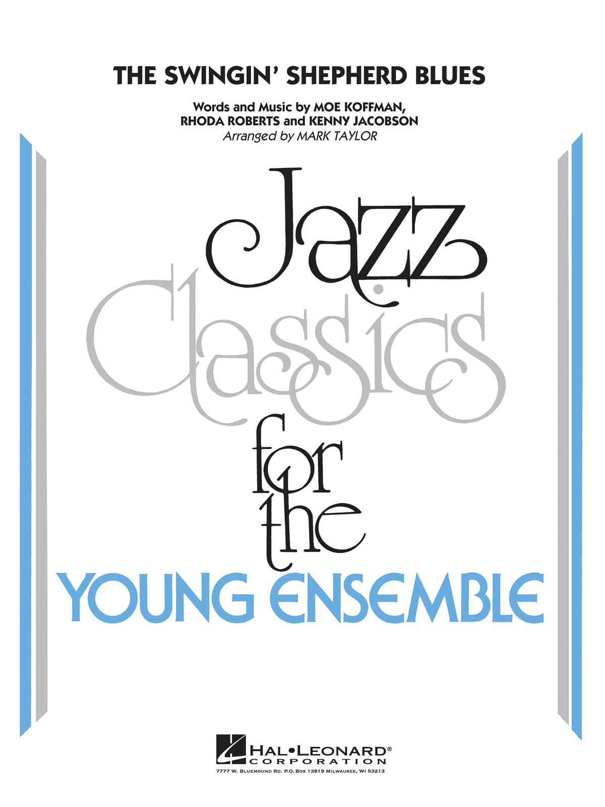The Swinging' Shepherd Blues: Jazz Ensemble: Score