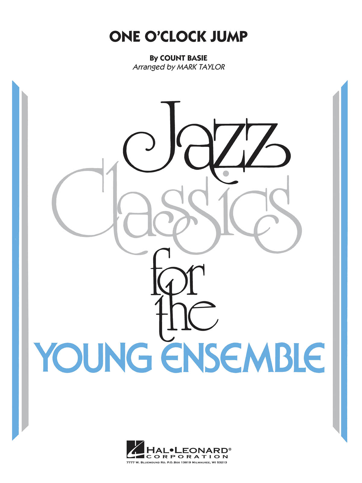 Count Basie: One O'Clock Jump: Jazz Ensemble: Score and Parts