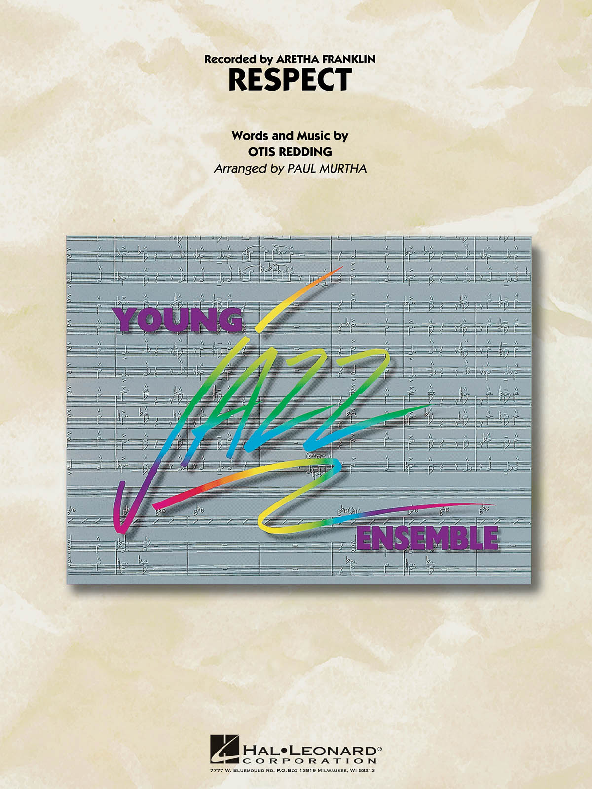 Otis Redding: Respect: Jazz Ensemble and Vocal: Score and Parts