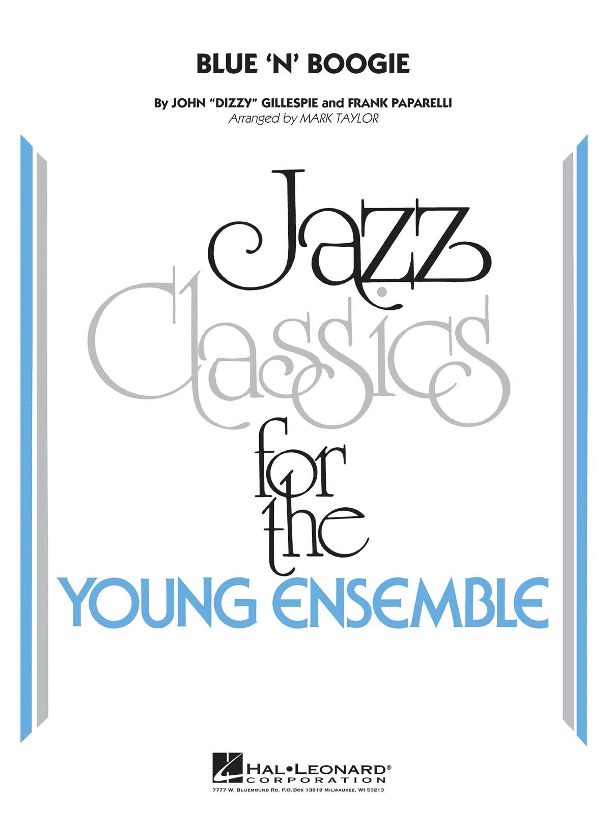 Dizzy Gillespie: Blue 'N' Boogie: Jazz Ensemble: Score