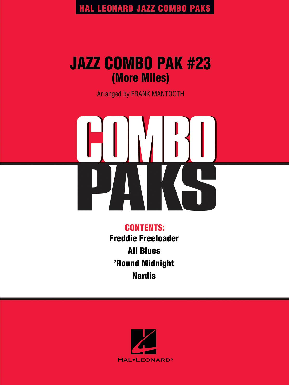 Miles Davis: Jazz Combo Pak #23 (More Miles Davis): Jazz Ensemble: Score  Parts