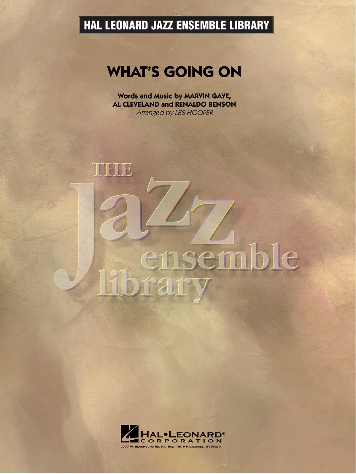 Al Cleveland Marvin Gaye Renaldo Benson: What'S Going On: Jazz Ensemble: Score