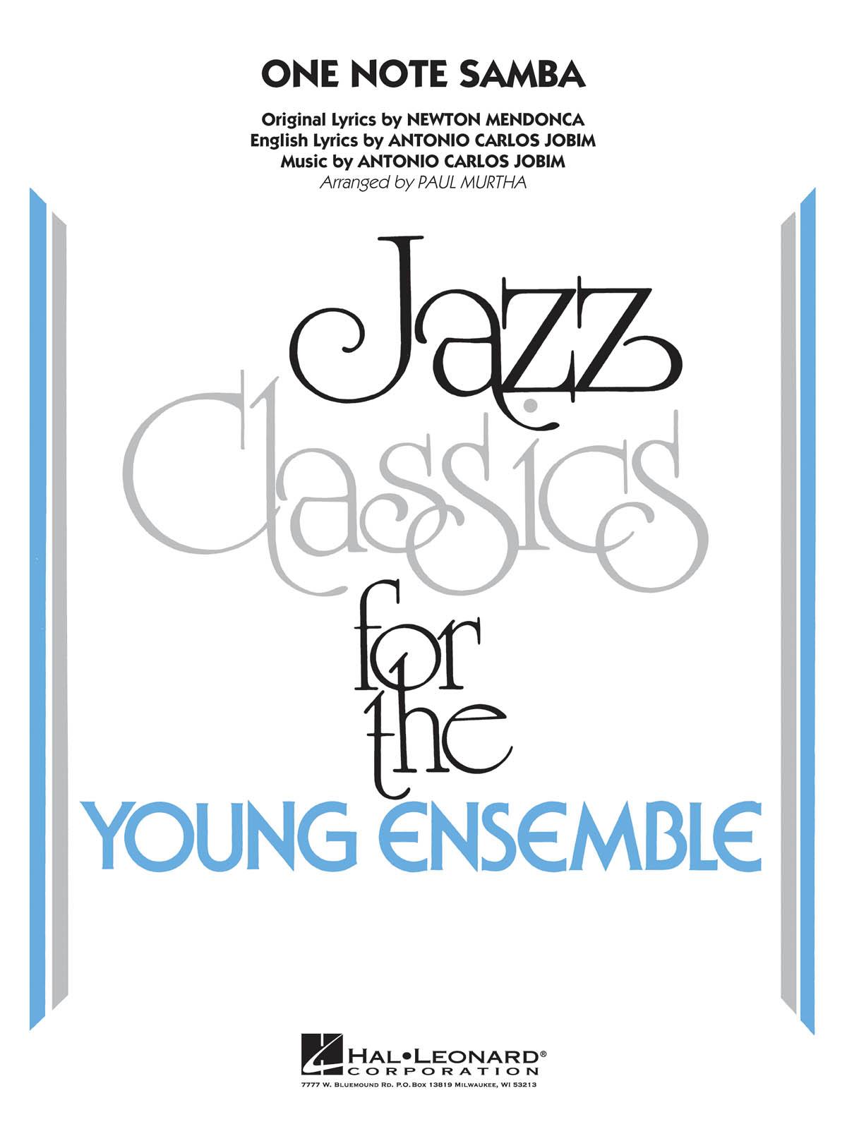 Antonio Carlos Jobim: One Note Samba: Jazz Ensemble: Score & Parts