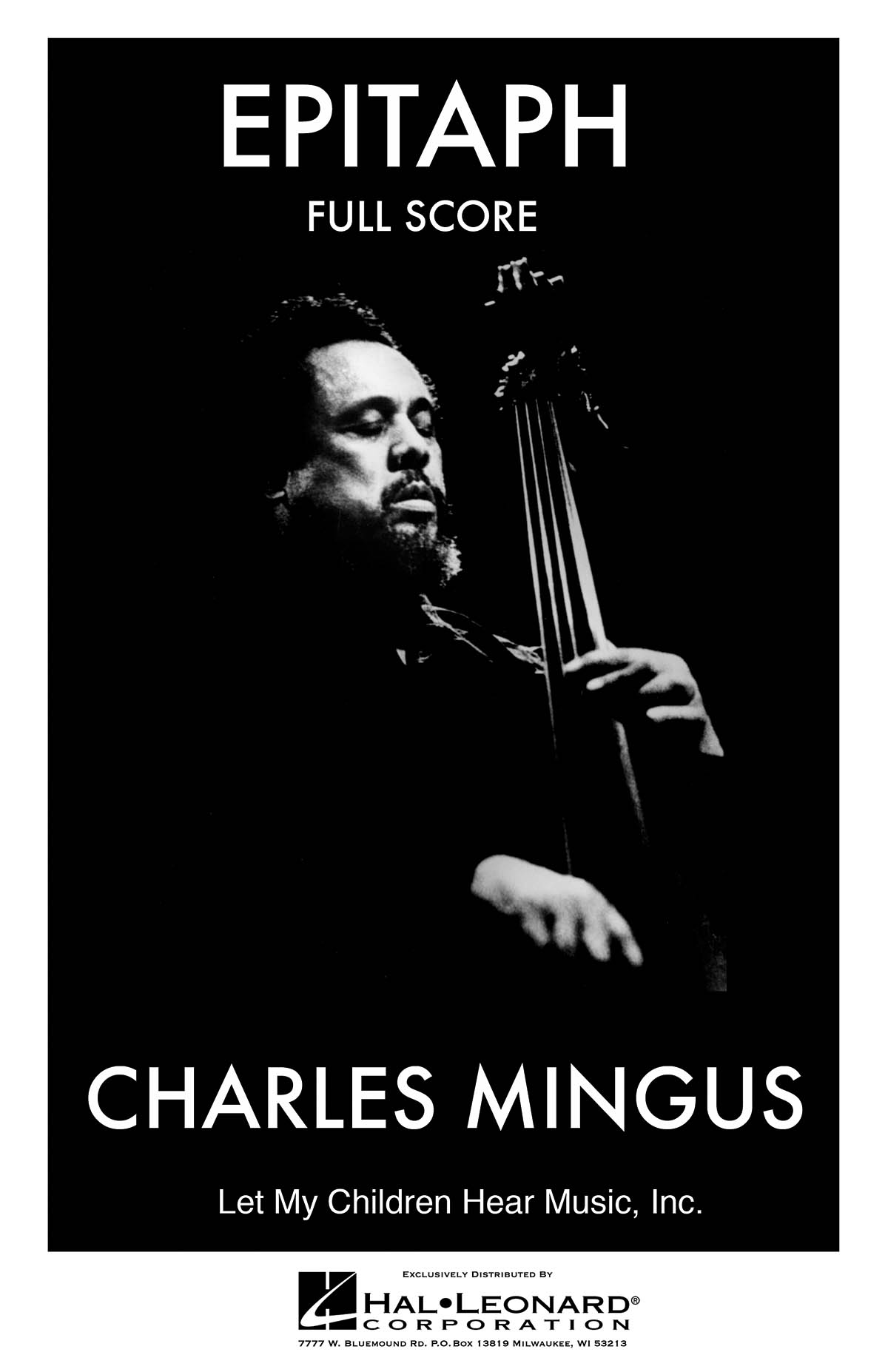 Charles Mingus: Epitaph: Jazz Ensemble: Score