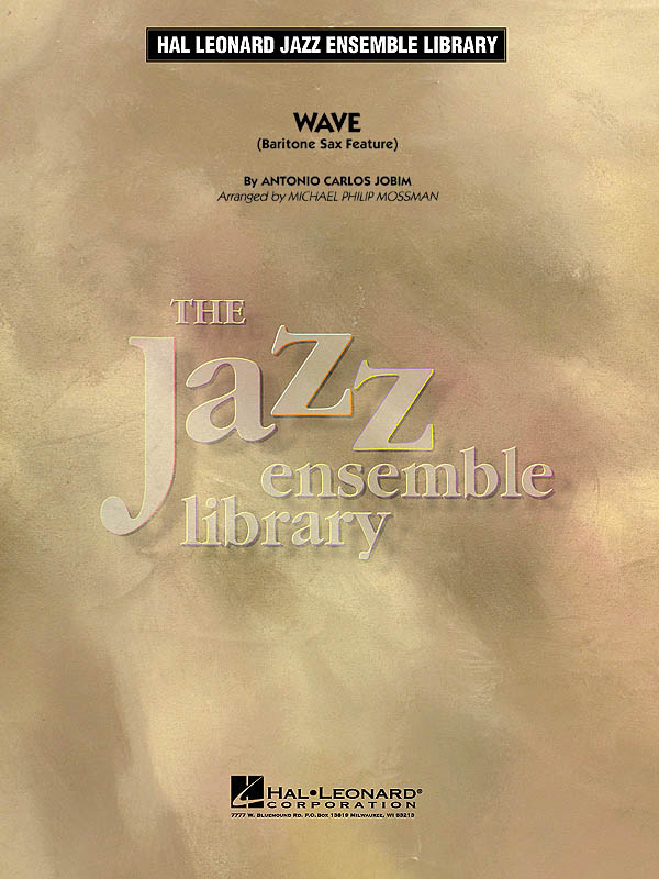Antonio Carlos Jobim: Wave: Jazz Ensemble: Score