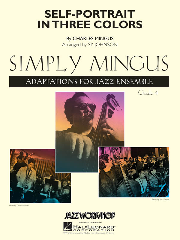 Charles Mingus: Self-Portrait In Three Colors: Jazz Ensemble: Score & Parts