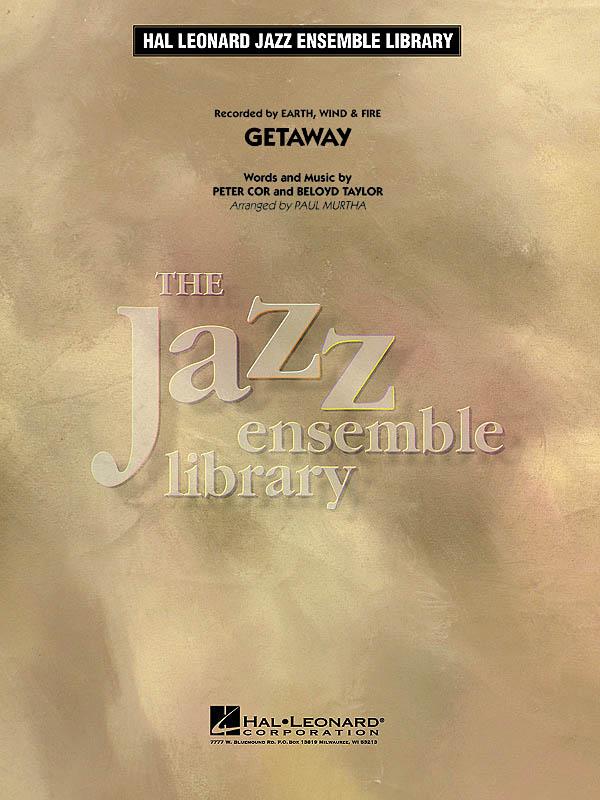 Beloyd Taylor Peter Cor: Getaway: Jazz Ensemble: Score & Parts