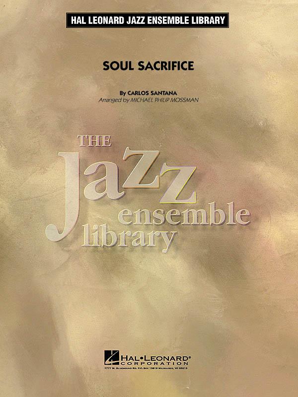Carlos Santana: Soul Sacrifice: Jazz Ensemble: Score & Parts