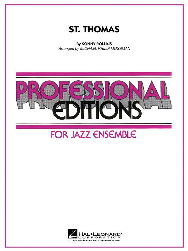 Sonny Rollins: St. Thomas: Jazz Ensemble: Score