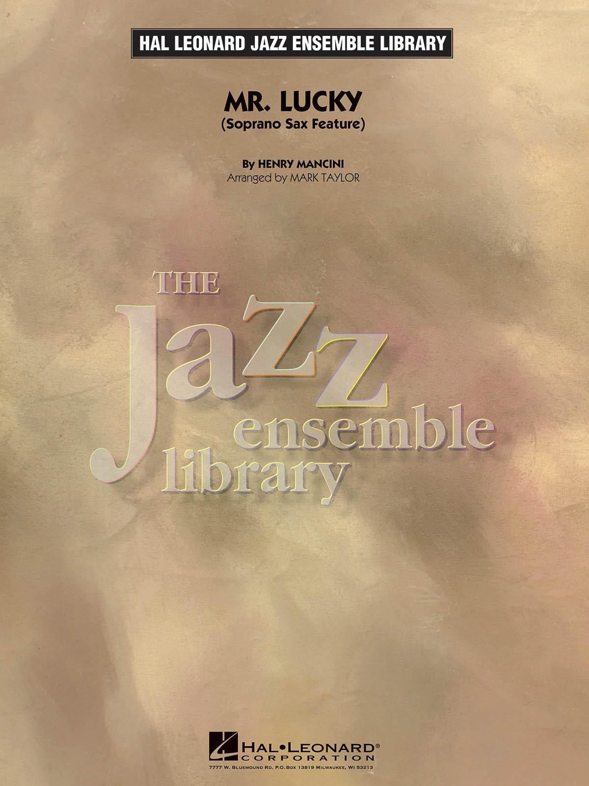 Henry Mancini: Mr. Lucky: Jazz Ensemble: Score