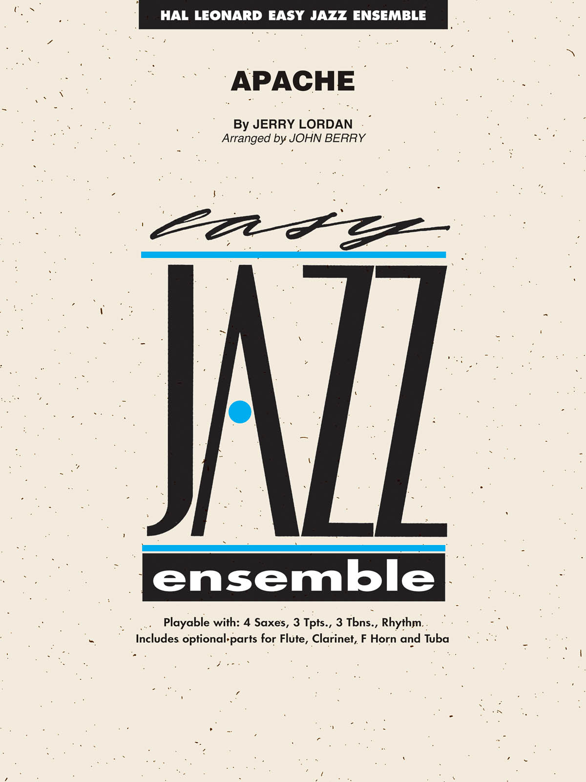 Jerry Lordan: Apache: Jazz Ensemble: Book & CD