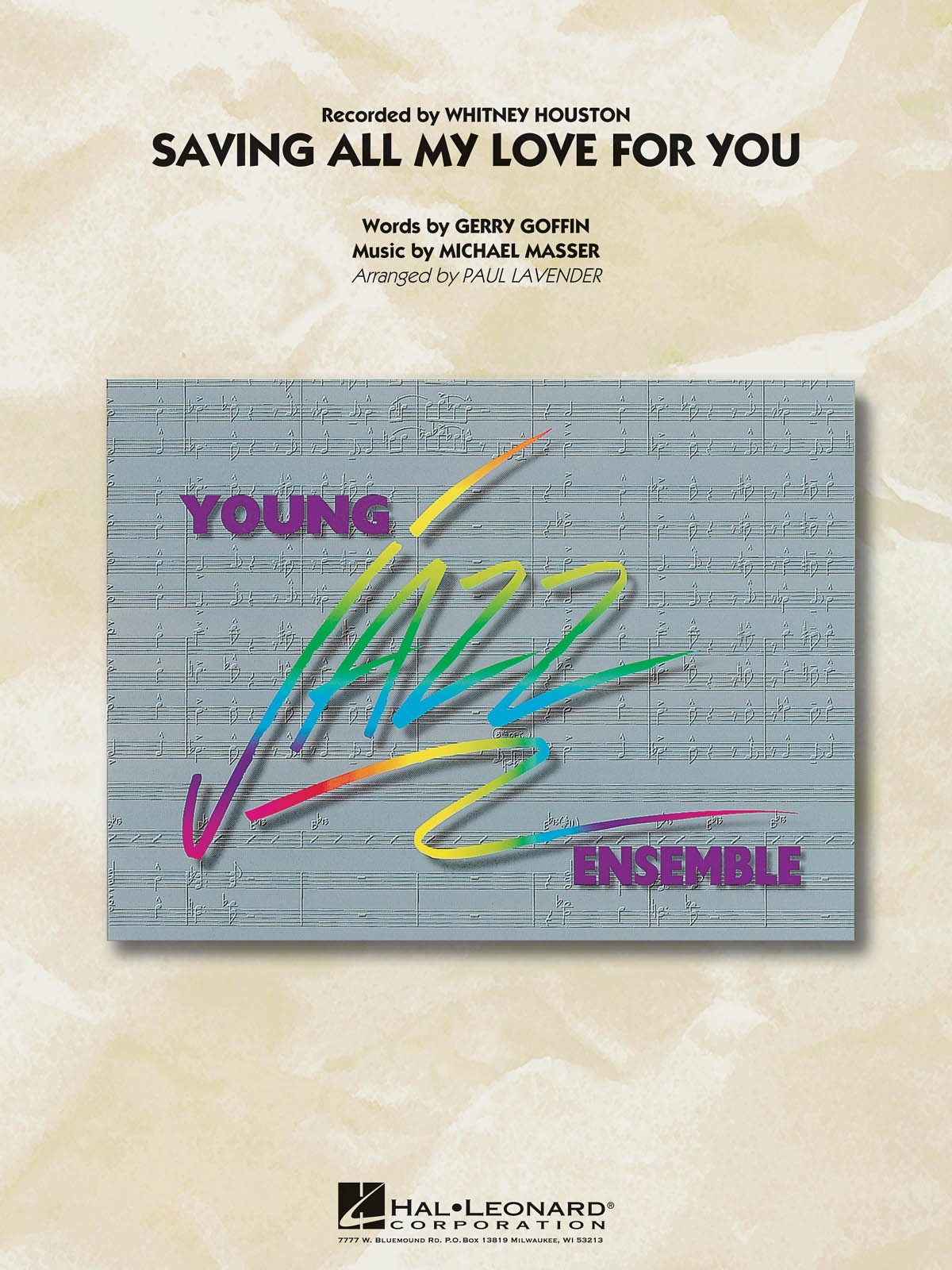 Gerry Goffin: Saving all my Love for You: Jazz Ensemble: Score