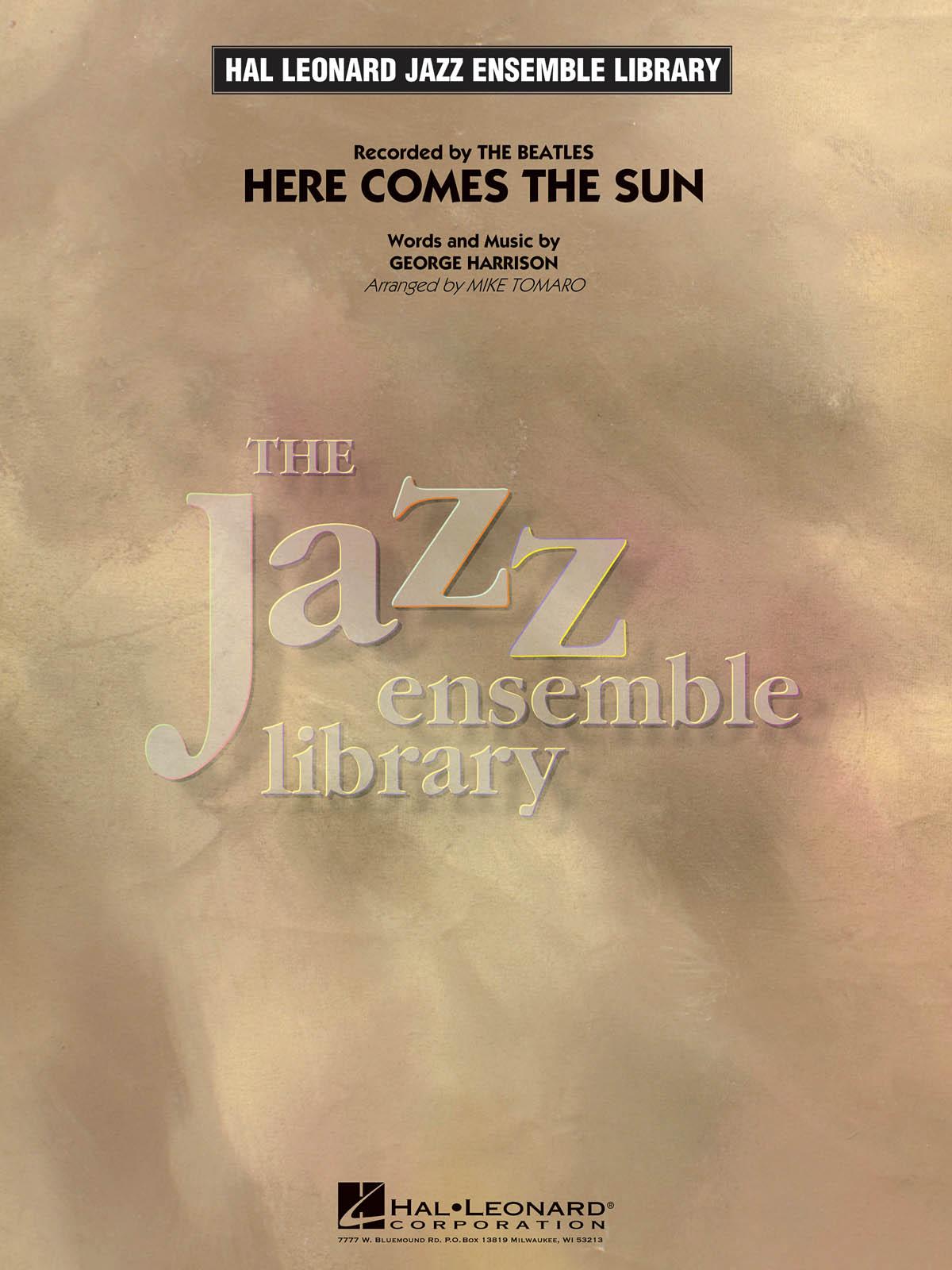 George Harrison: Here Comes the Sun: Jazz Ensemble: Score