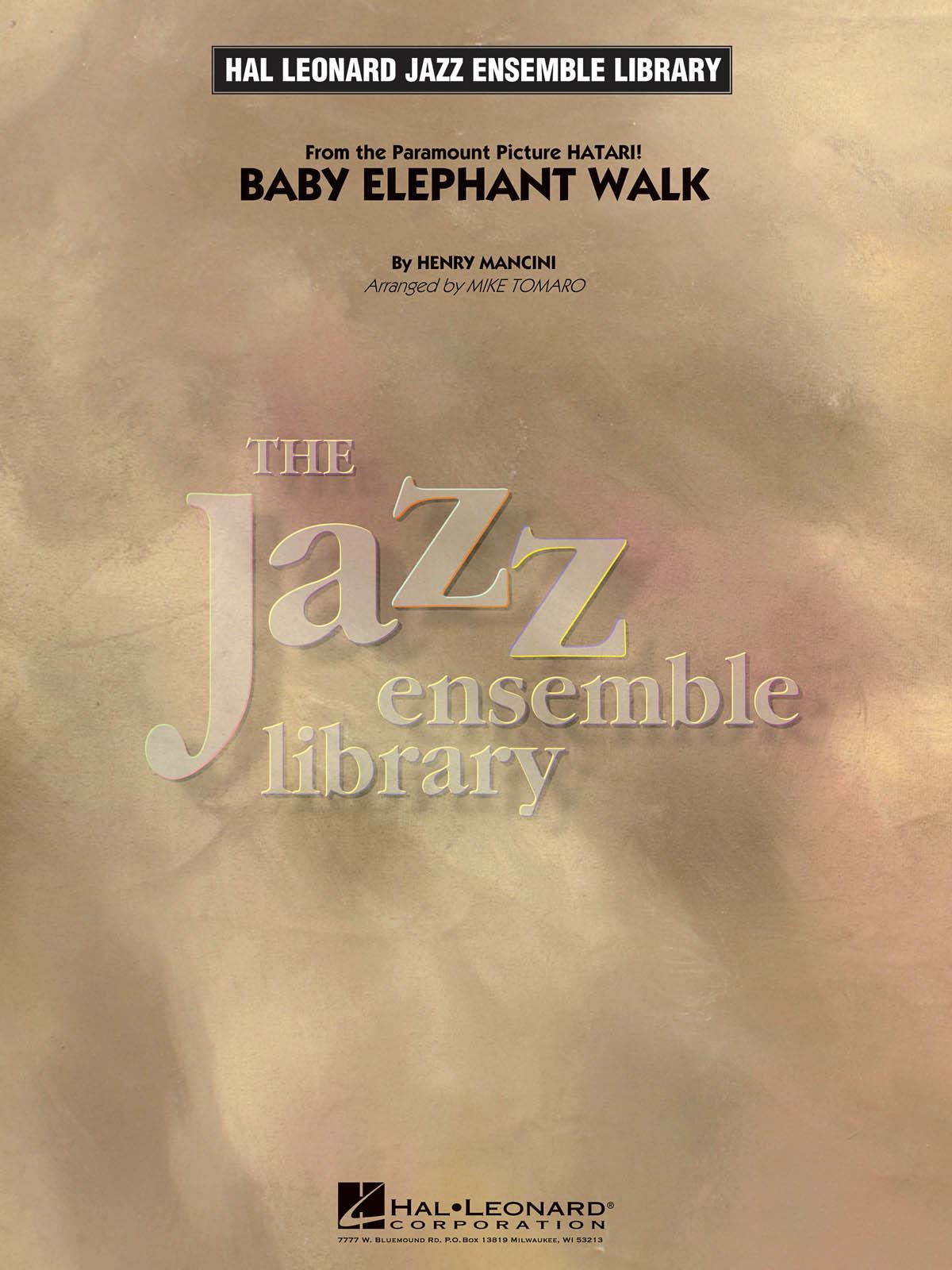 Henry Mancini: Baby Elephant Walk: Jazz Ensemble: Score