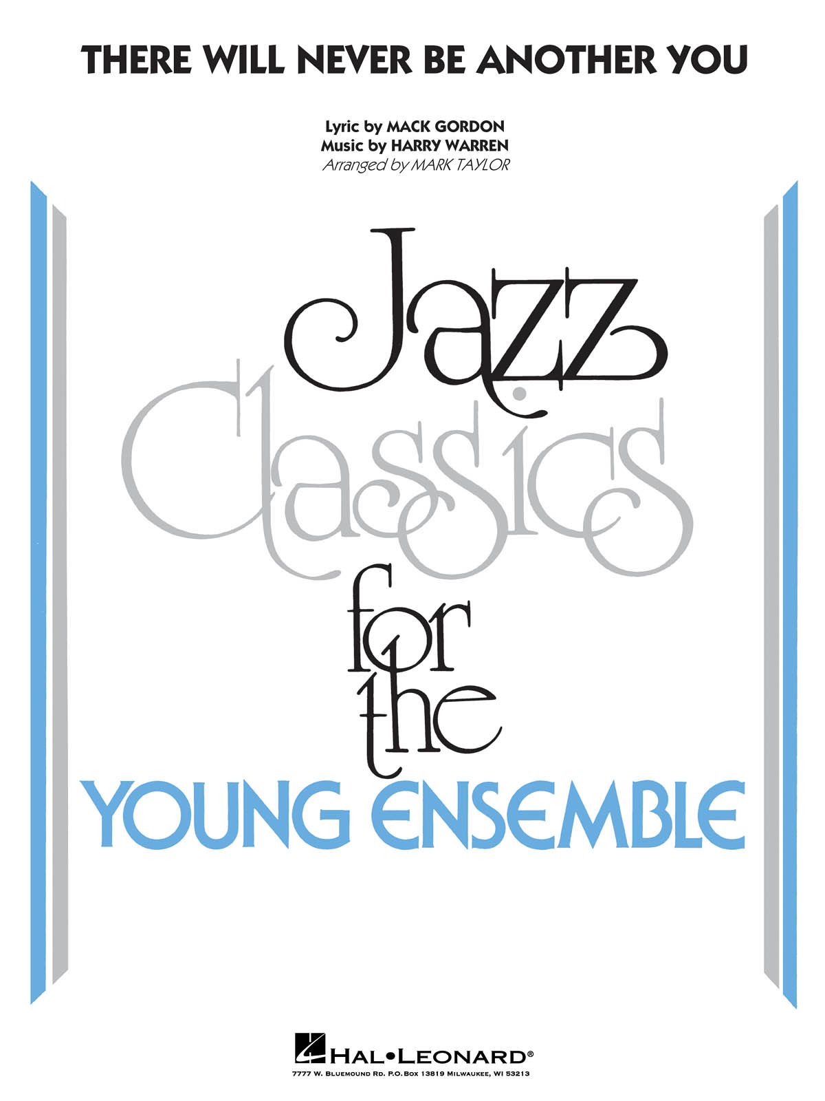 There Will Never Be Another You: Jazz Ensemble: Score & Parts