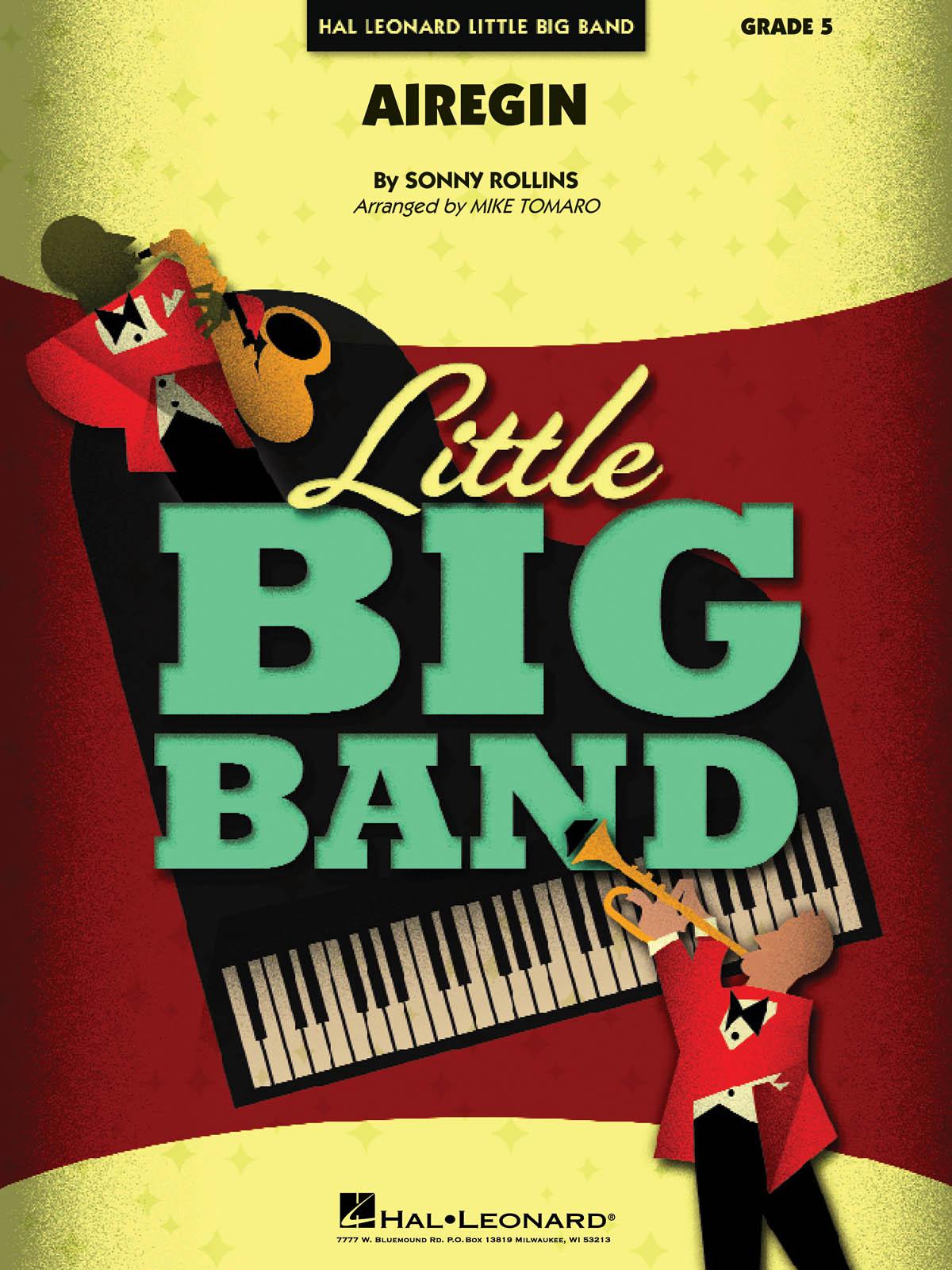 Sonny Longfield: Airegin: Jazz Ensemble