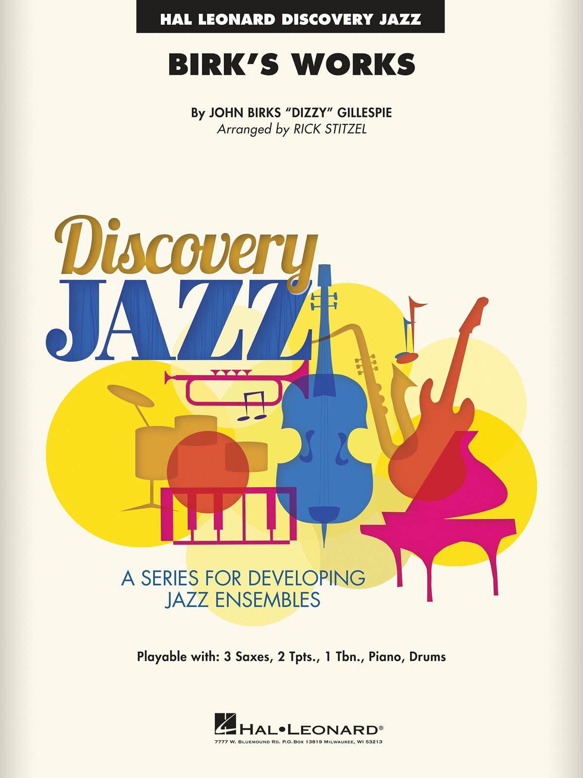 Dizzy Gillespie: Birk's Works: Jazz Ensemble: Score & Parts