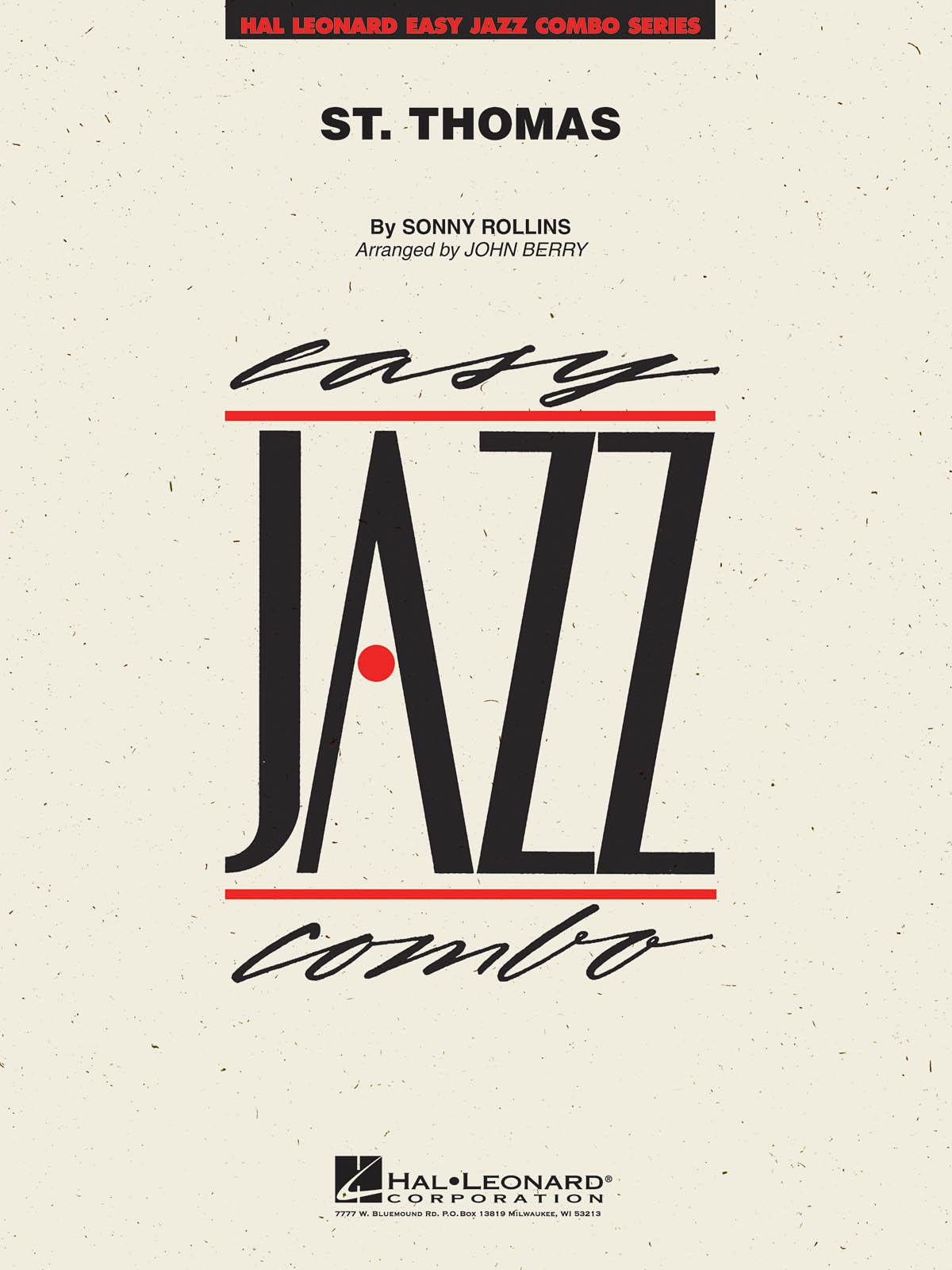 Sonny Rollins: St. Thomas: Jazz Ensemble: Score & Parts