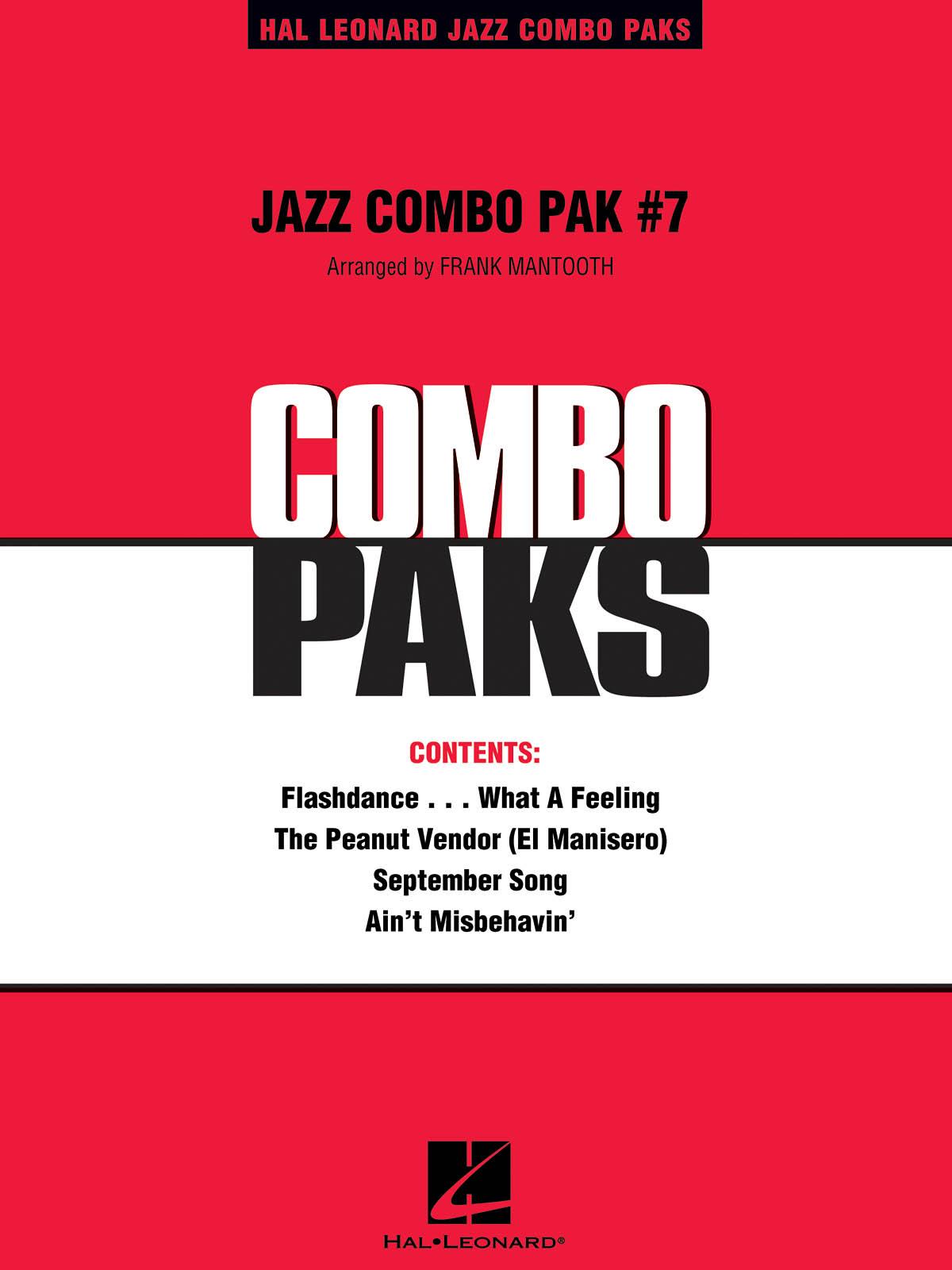 Jazz Combo Pak #7: Jazz Ensemble: Score  Parts & Audio