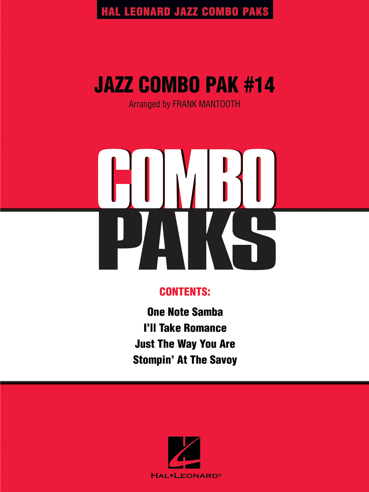 Jazz Combo Pak #14: Jazz Ensemble: Score  Parts & Audio