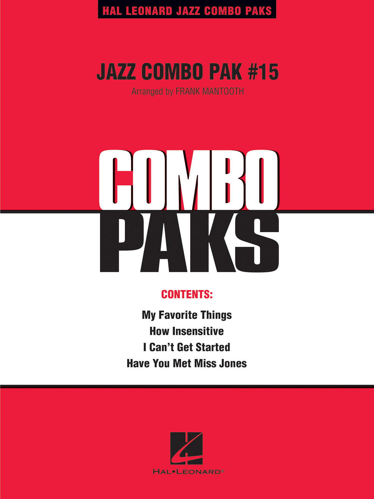 Jazz Combo Pak #15: Jazz Ensemble: Score  Parts & Audio