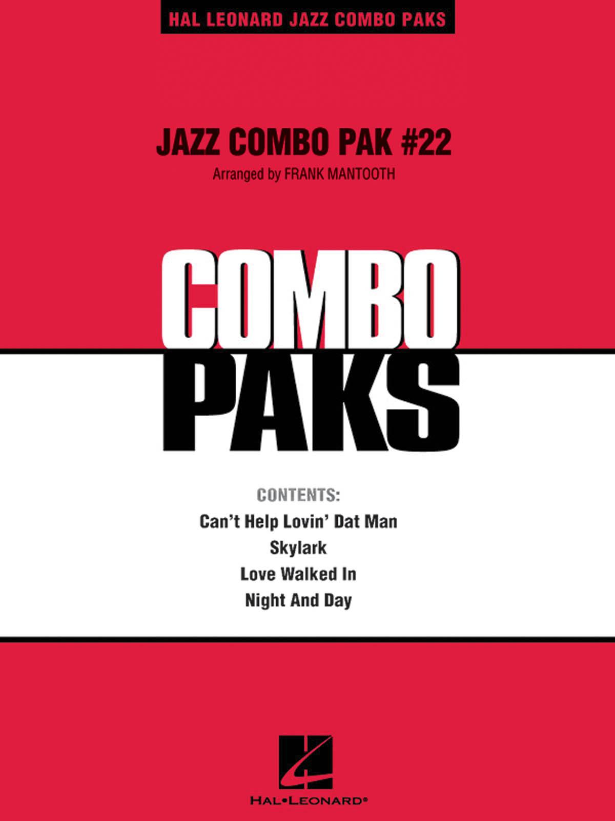 Jazz Combo Pak #22: Jazz Ensemble: Score  Parts & Audio