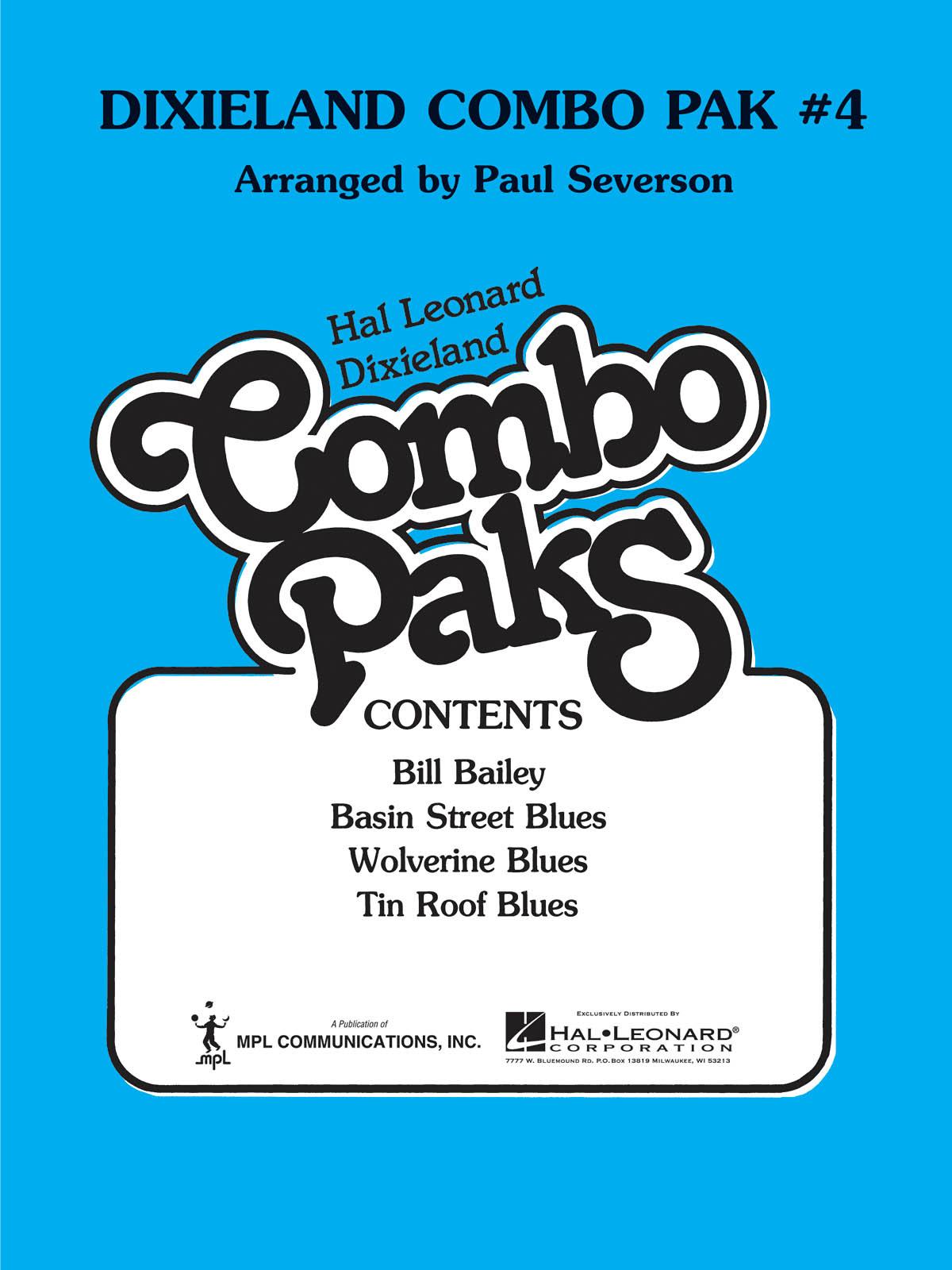 Dixieland Combo Pak 4: Jazz Ensemble: Score  Parts & Audio