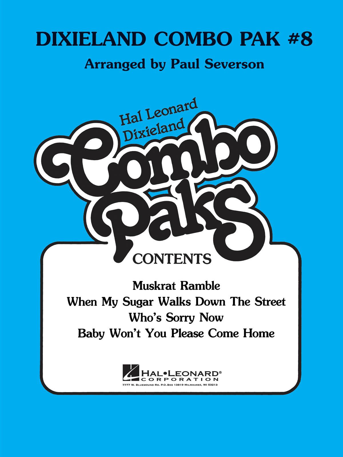 Dixieland Combo Pak 8: Jazz Ensemble: Score  Parts & Audio