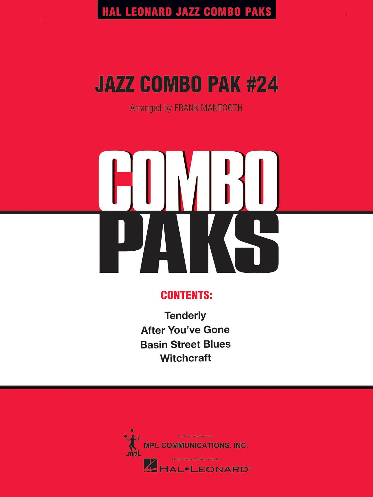 Jazz Combo Pak #24: Jazz Ensemble: Book & Audio