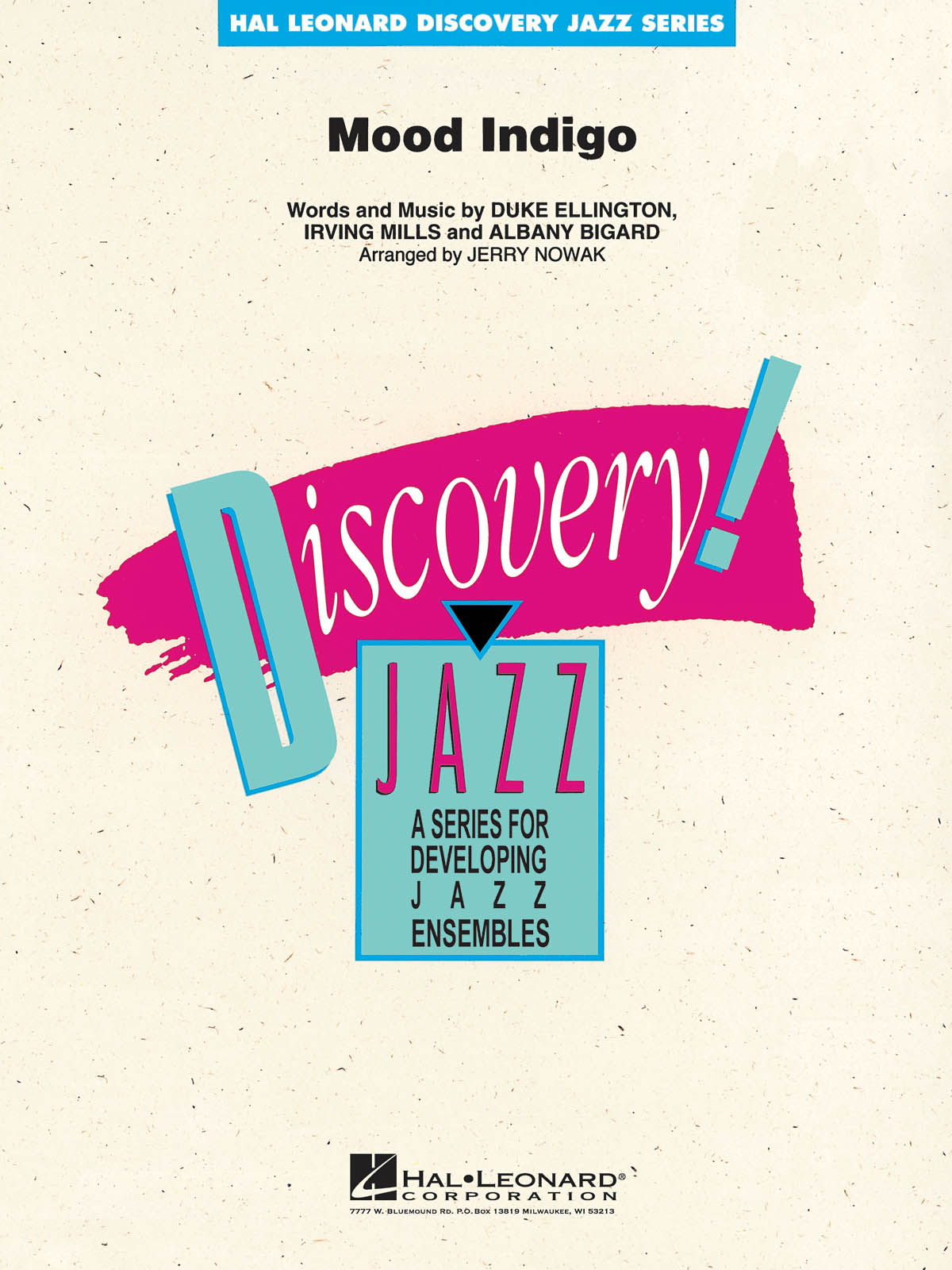 Mood Indigo: Jazz Ensemble: Score  Parts & Audio