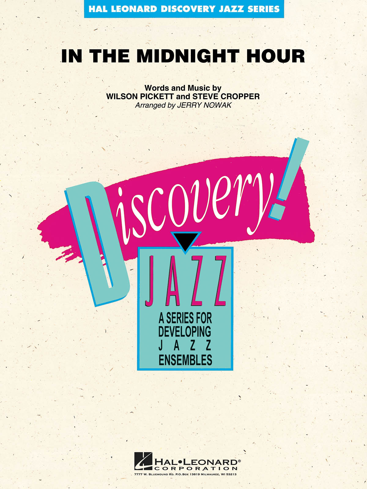 Steve Cropper: In The Midnight Hour: Jazz Ensemble: Score