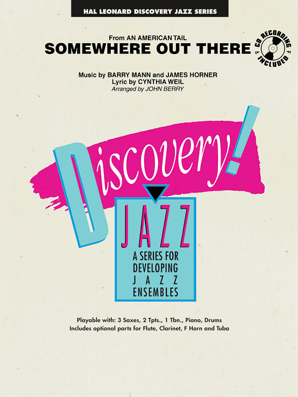 Barry Mann: Somewhere Out There: Jazz Ensemble: Score