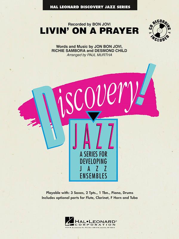 Jon Bon Jovi: Livin' on a Prayer: Jazz Ensemble: Score