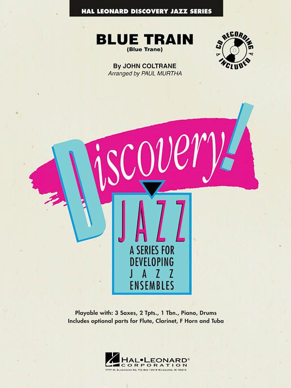 John Coltrane: Blue Train: Jazz Ensemble: Score & Parts