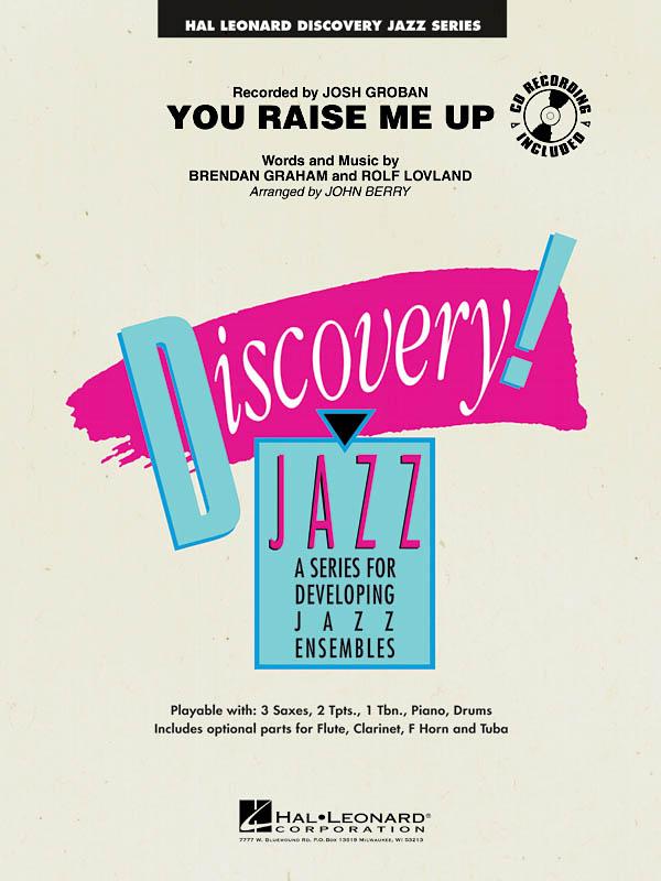Brendan Graham Rolf Lovland: You Raise Me Up: Jazz Ensemble: Score & Parts