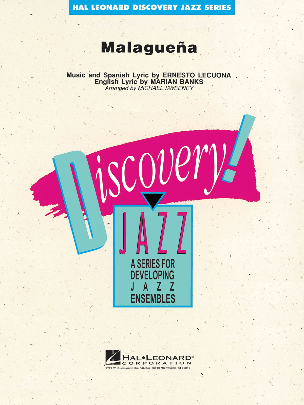 Ernesto Lecuona: Malaguena: Jazz Ensemble: Score & Parts