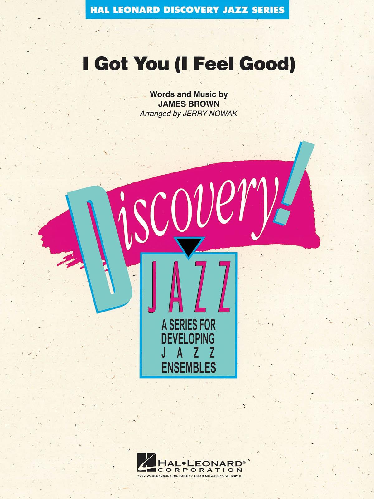James Brown: I Got You (I Feel Good): Jazz Ensemble: Score