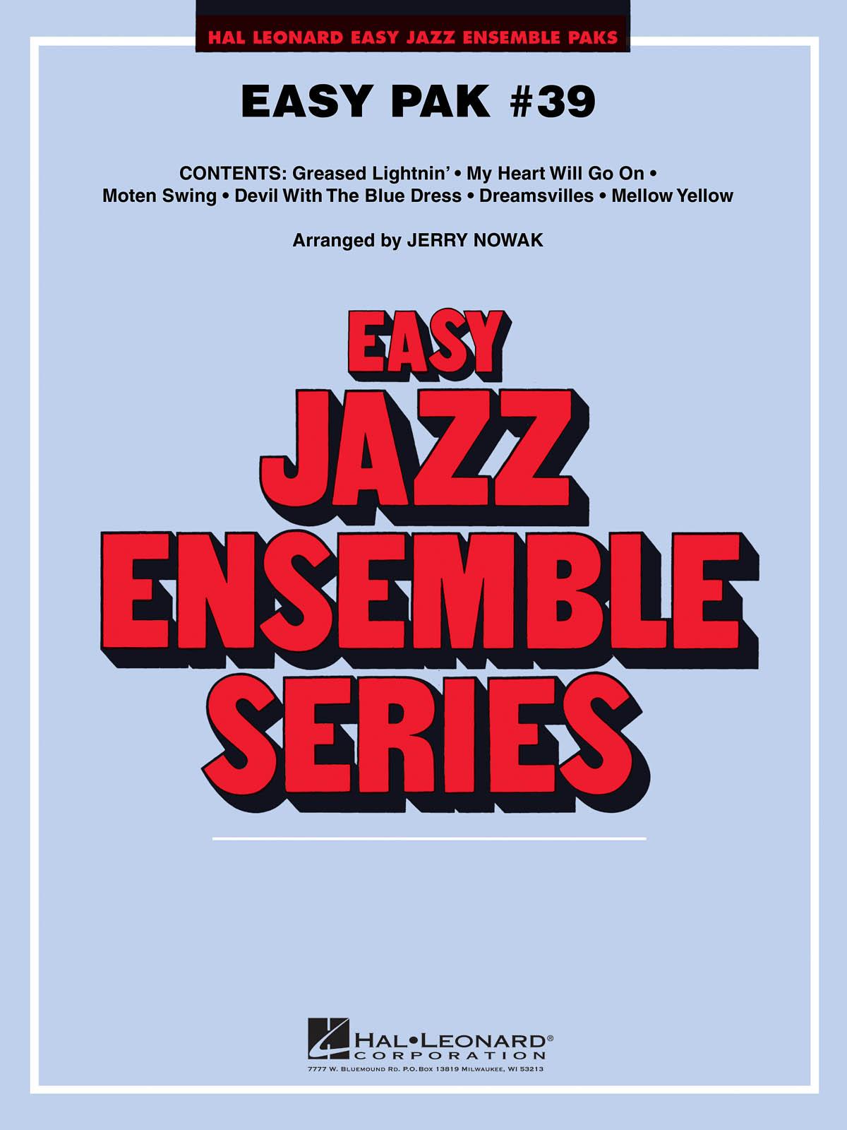 Easy Jazz Ensemble Pak 39: Jazz Ensemble: Score