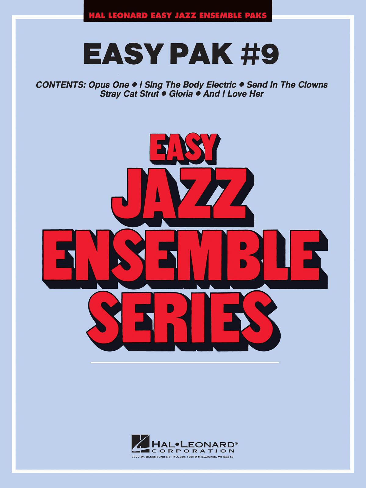 Easy Jazz Ensemble Pak 9: Jazz Ensemble: Score