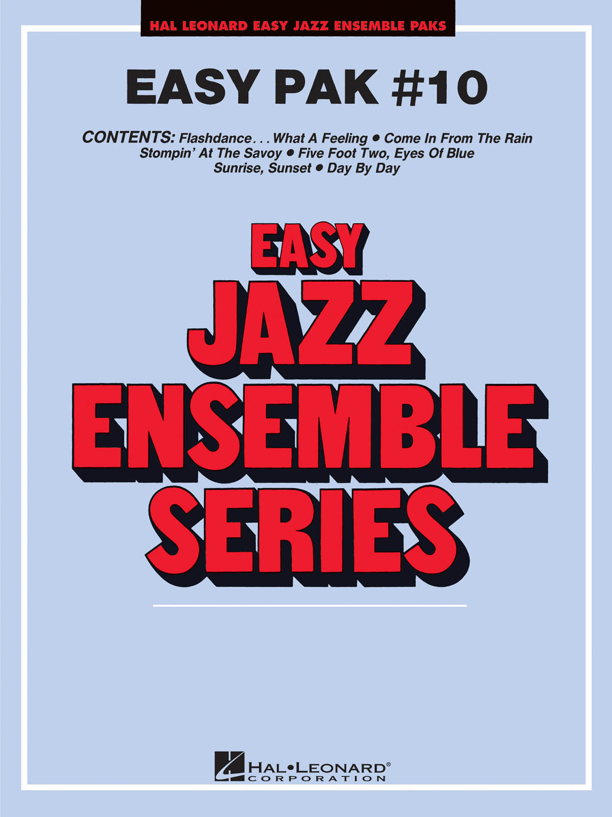 Easy Jazz Ensemble Pak 10: Jazz Ensemble: Score